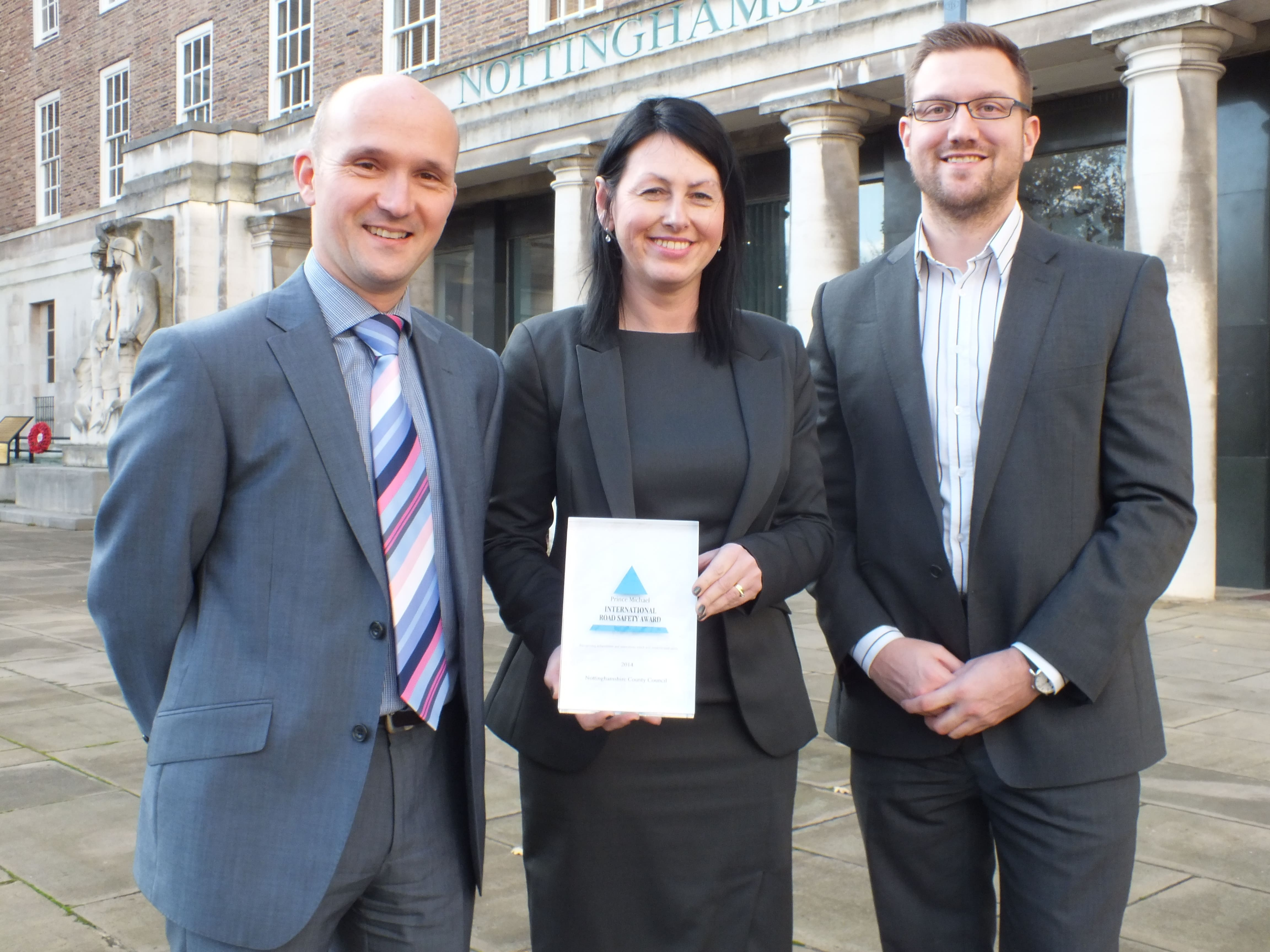 SPECS3 route enforcement scheme scoops prestigious road safety award.