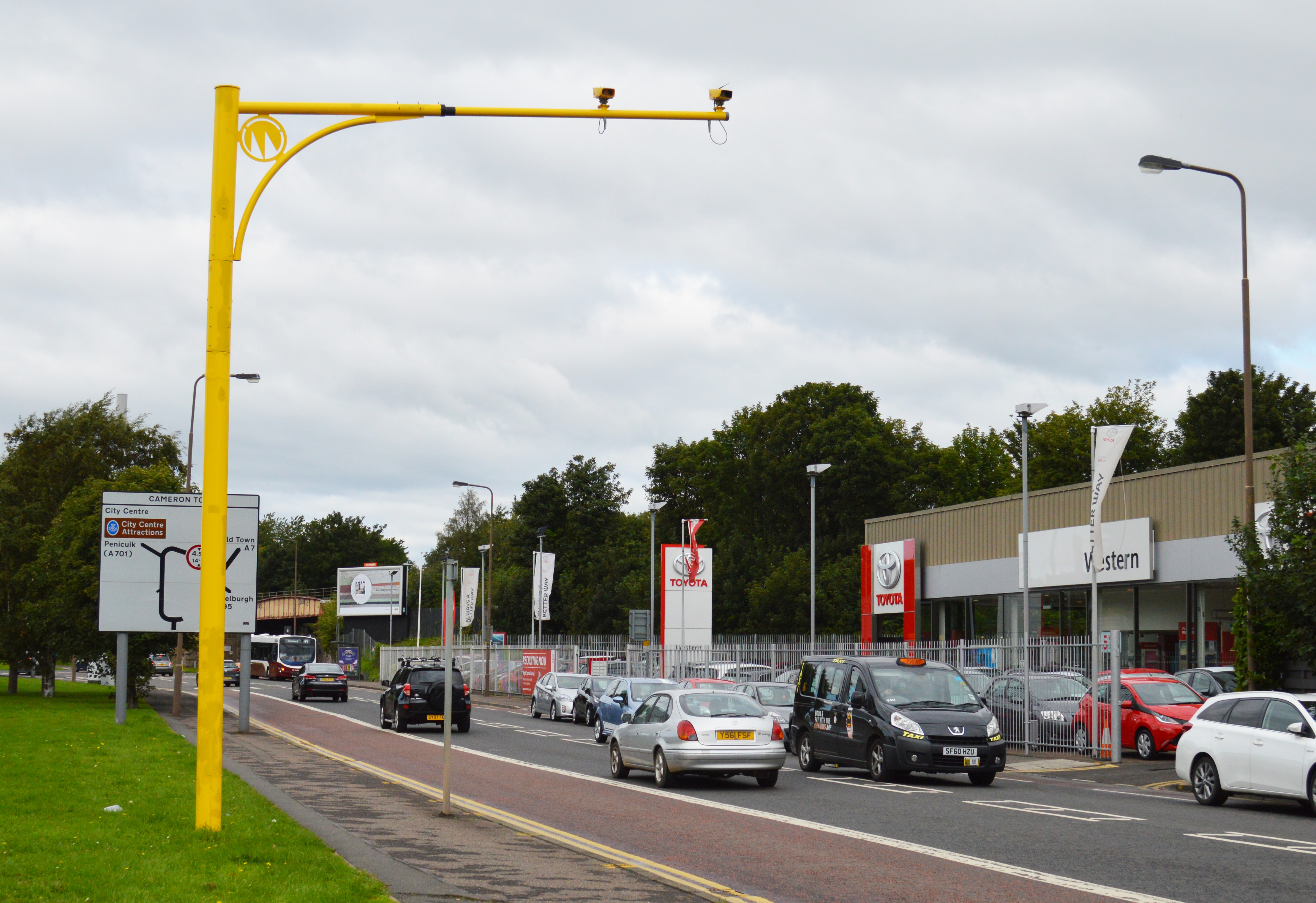Old Dalkeith Road Average Speed Cameras Transform Driver Behaviour.